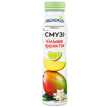 Смузи Молокія Йогурт-Манго-Лайм-Жасмин 2% 290г