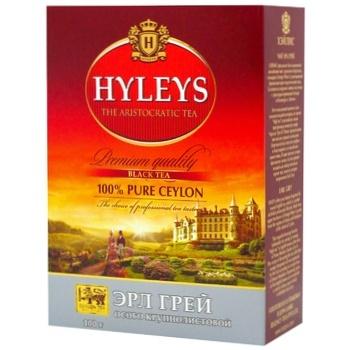 Hyleys Earl Grey Large Leaf Black Tea 100g