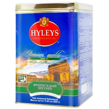 Чай Hyleys Французский Эрл Грей зеленый 500г - купить, цены на Метро - фото 1