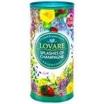 Чай Lovare Бризки Шампанського чорний та зелений листовий з ягодами та фруктами 80г
