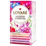 Чай Lovare цветочный ассорти в пакетиках 4 види 6шт*1.5г