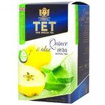 ТЕТ Green Tea with Quince and Aloe Vera 20pcs*2g
