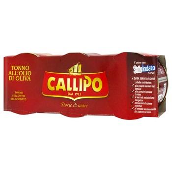 Callipo in olive oil fish tuna 3*80g