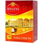 Чай черный Hyleys Плод страсти с маракуйей крупнолистовой 100г