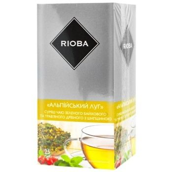 Rioba Tea mix Alpine meadow 25 teabags