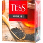 Чай чорний Tess Sunrise 100шт 1,8г
