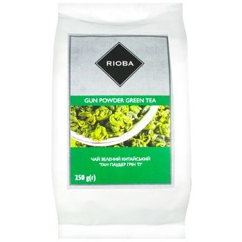 Чай Rioba Gun powder зеленый  250г - купить, цены на Метро - фото 1