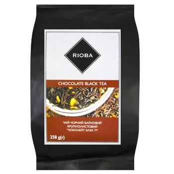 Чай Риоба черный с шоколадом 250г - купить, цены на Метро - фото 1