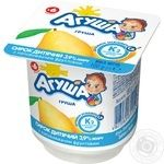 Agusha For Babies From 6 Months With Pear Cottage Cheese 3.9% 100g