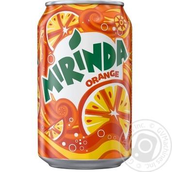 Напиток Mirinda Апельсин 0,33л - купить, цены на Ашан - фото 1