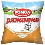 Romol Fermented baked milk 4% 425g