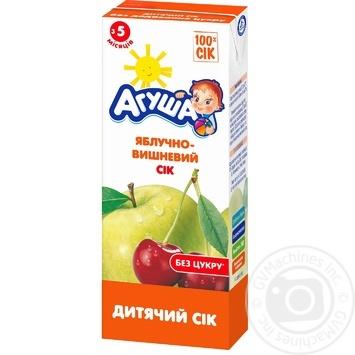 Сок Агуша яблочно-вишневый для детей с 5 месяцев 200мл - купить, цены на Восторг - фото 2