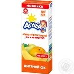 Agusha for children from 6 months multifruit juice 200ml