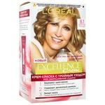 Крем-фарба для волосся L'Oreal Excellence Creme 8.1 світло-русявий попелястий