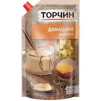 TORCHYN® Domashniy mayonnaise 580g - buy, prices for Novus - image 1