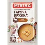 MIVINA® Hot Mug Mushroom cream-soup with Croutons 15g - buy, prices for MegaMarket - image 1