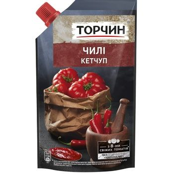 Кетчуп ТОРЧИН® Чили 270г - купить, цены на Таврия В - фото 1