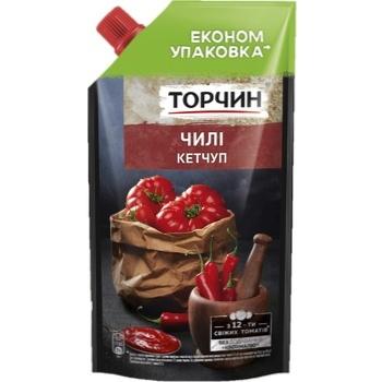 Кетчуп ТОРЧИН® Чилі 400г - купити, ціни на Novus - фото 1