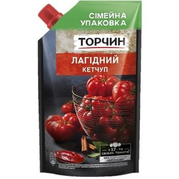 Кетчуп ТОРЧИН® Лагідний 540г - купити, ціни на Novus - фото 1
