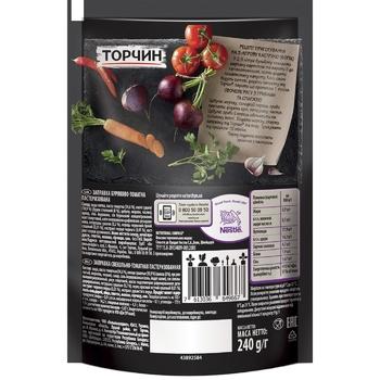 Заправка ТОРЧИН® Буряково-томатна для перших та других страв 240г - купити, ціни на Novus - фото 2