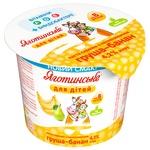 Паста творожная Яготинське для детей Груша-банан с 8 месяцев 4,2% 100г