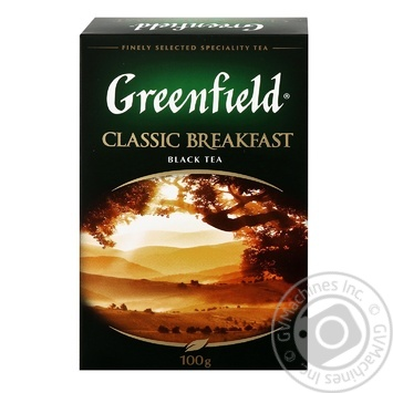 Greenfield Classic Breakfast Black Tea - buy, prices for Novus - image 1