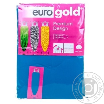 Чехол Eurogold для гладильной доски 120x38см