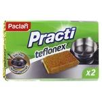Губки Paclan Practi Teflonex кухонні 2шт