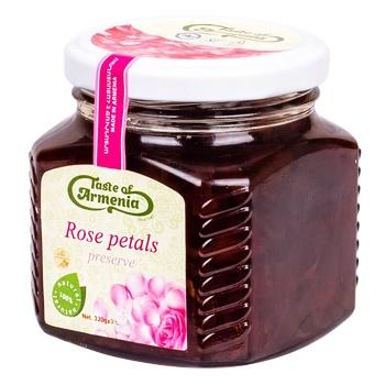 Варення Taste Of Armenia з пелюсток троянд 320г - купити, ціни на Восторг - фото 1