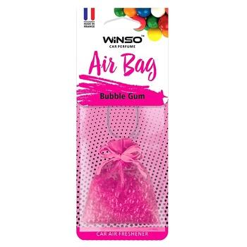 Ароматизатор автомобільний Winso Air Bag Bubble Gum 20г - купити, ціни на Ашан - фото 1