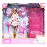 Кукла Defa Lucy в ванной комнате