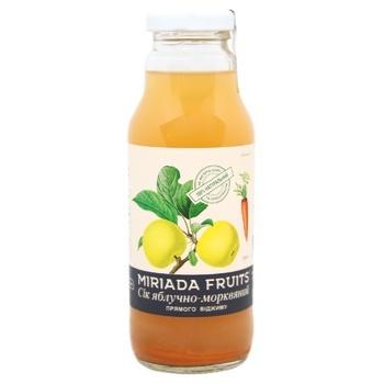 Miriada Fruits Apple-Carrot Juice 300ml