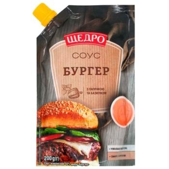 Shchedro Burger Mayonnaise Sauce 200g