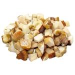 White mushrooms diced fresh frozen