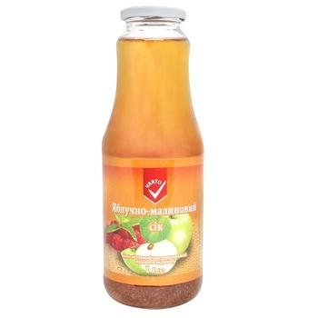 Сік Varto яблучно-малиновий 1л