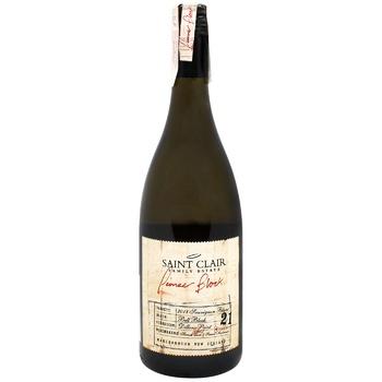 Saint Clair Pioneer Block Sauvignon Blanc White Dry Wine 13.5% 0.75l - buy, prices for CityMarket - photo 1