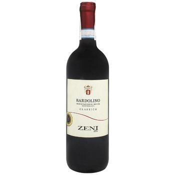 Zeni Bardolino Wine red dry 12% 0,75l - buy, prices for CityMarket - photo 1