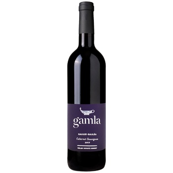 Gamla Cabernet Sauvignon Red Dry Wine 14.5% 0.75l - buy, prices for CityMarket - photo 1
