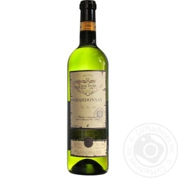 Casa Veche Chardonnay White Dry Wine 10-12% 0,75l - buy, prices for Novus - image 1