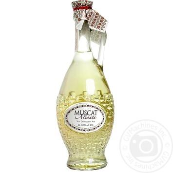 Alianta-Vin Muscat white semi-sweet wine 0,7l - buy, prices for Novus - image 1