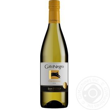 Gato Negro Chardonnay white dry wine 13,5% 0,75l - buy, prices for Novus - image 1