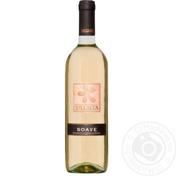 Вино Villalta Soave белое сухое 11% 0,75л - купить, цены на Novus - фото 1