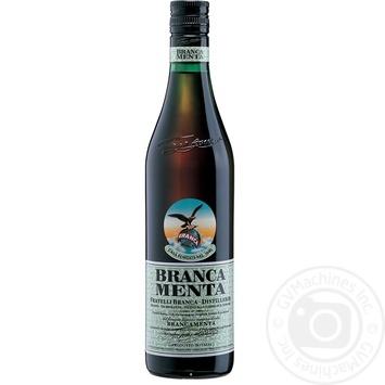Ликер Branca Menta 28% 0,7л - купить, цены на МегаМаркет - фото 1