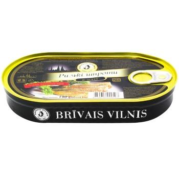 Brivais Vilnis In Oil Sprats - buy, prices for Metro - photo 2