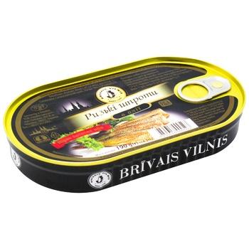 Brivais Vilnis In Oil Sprats - buy, prices for Metro - photo 1
