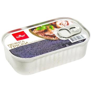 Консерва рыбная Banga Печень трески 115г - купить, цены на Метро - фото 1