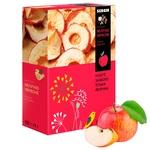 Яблука червоні Sergio сушені кільцями 150г