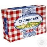 Масло Селянське солодковершкове 82% 200г - купити, ціни на Фуршет - фото 1