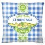 Selianska Sour Сream 10% 400г