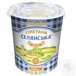Selianska Sour Сream 15% 350g